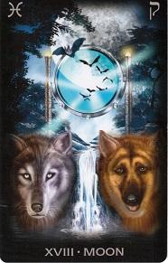 изображение 18 Аркан Луна из Tarot of Dreams