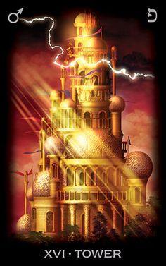 XVI Аркан Башня из Tarot of Dreams