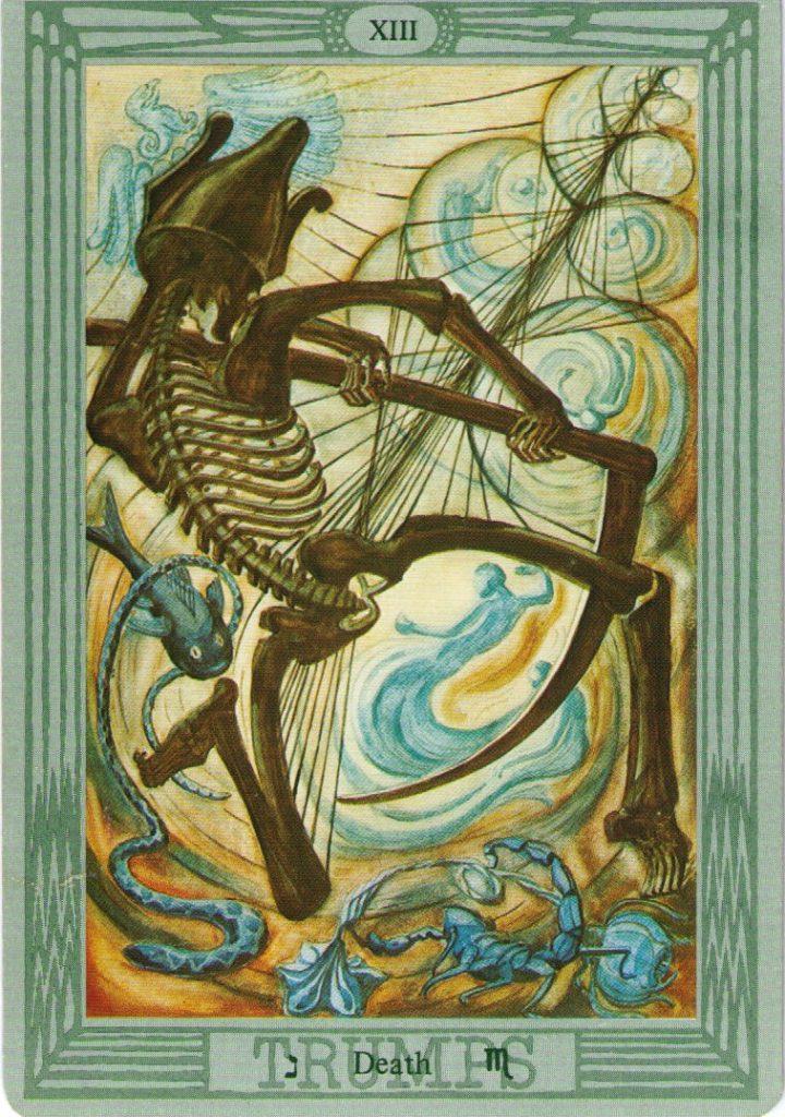 13 Аркан Таро Тота Смерть