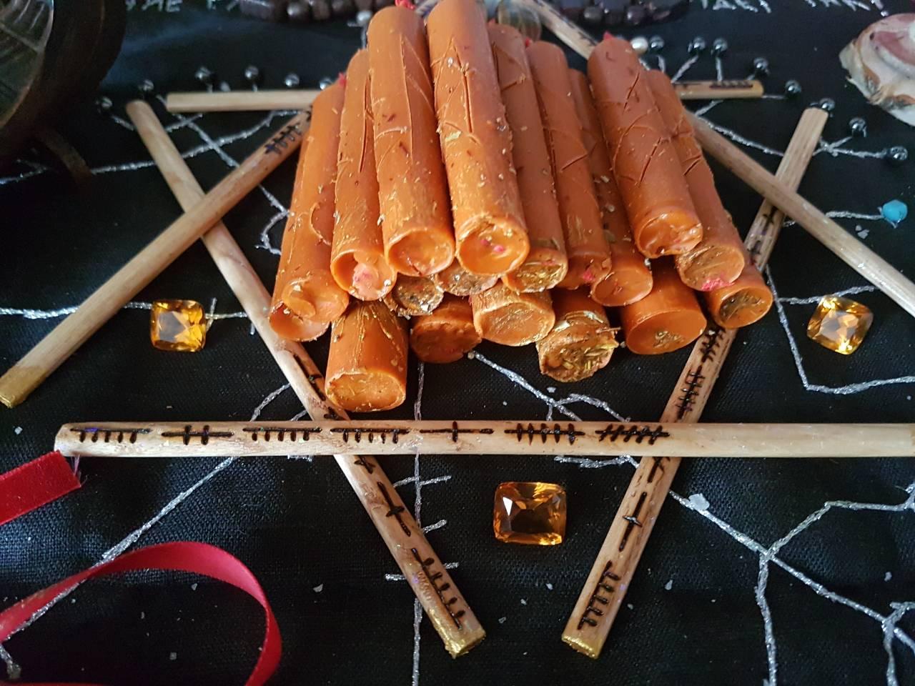свечи заряженые в ритуале