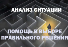 анализ ситуации