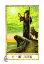 Отшельник из Druid Kraft Tarot