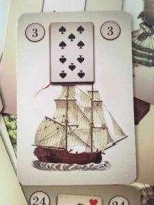 значение карты Корабль №3 из колоды Ленорман