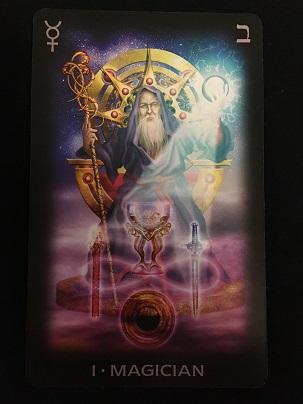 Маг 1 аркан из Tarot of Dreams
