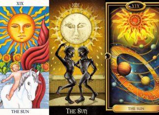 значение аркана таро слнце